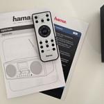Hama DIR3000 Fernbedienung und Benutzerhandbuch