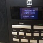 Display des Dual IR 5.1 Internetradios